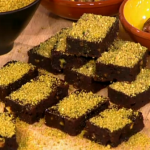 Paul Frangie makes Sticky Date Brownies and Lamb Bolognese on This Morning as part of Slime While You Thin