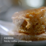 Debbie's Sticky Toffee Pudding Pie won best dish on Channel 4's The Taste but who was the first cook to go home?