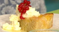 Simon Rimmer servers up a delicious looking pina colada frangipane tart on today's Sunday Brunch aided by Eastenders Natalie Cassidy. To make his tart, Simon used the following ingredients: 225g...