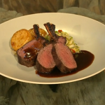 Rack of venison with sage by Brian Turner on Saturday Kitchen with James Martin