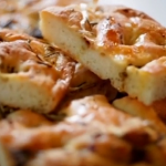 Classic lasagne and Focaccia bread with garlic and rosemary by Gennaro Contaldo on Food and Drink