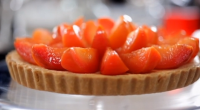 "Michel Roux Jr makes a delicious plum frangipane tart on this week's episode of Food and Drink that is an ideal winter warmer. The Michelin stared chef says: ""This plum..."