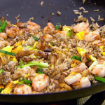 Pork Belly with Egg Fried Rice recipe on The Hairy Bikers Asian Adventure
