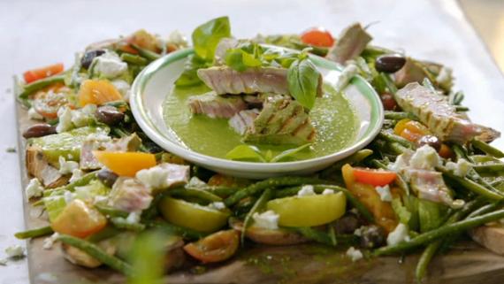 Jamie Oliver Bean Salad With Tuna