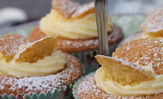 Orange Butterfly Cakes And Bite Sized Scones For A Cream Tea Recipe By Mary Berry The Talent Zone