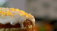 "Mary Berry reveals her recipe for her mouth-watering whole lemon cake with lemon cheesecake icing on her new food series, Mary Berry Cooks. [imagebrowser id=72] Mary says: ""Look for thin-skinned..."