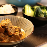 Bikers Beef Rendang recipe with spices and onions on the Hairy Bikers Best of British Foods