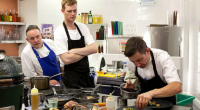 The new series of the Great British Menu got on the way yesterday with three chefs from Northern Ireland doing battle in the kitchen to see who could serve up...