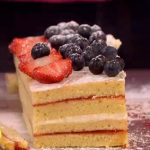 John Whaite Naked Birthday Cake recipe on Lorraine