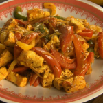Rick Stein vegetarian paneer jalfrezi with Indian cheese, tomatoes and peppers recipe on Saturday Kitchen