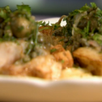 Raymond Blanc Pan fried Pollock with pommes purées recipe on Kitchen Secrets
