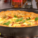 Dean Edwards Roasted tomato filo tart recipe on Lorraine