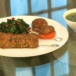 Vivek Singh Lamb seekh kebab two ways with green coriander chutney recipe on Saturday Kitchen