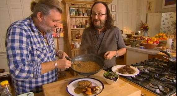Bikers Steak Diane with sauté potatoes recipe on Best of British | TV ...