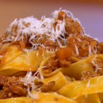 Gino Bolognese with roasted tomato sauce recipe on Let's Do Lunch