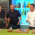 Simon Rimmer Goat's Cheese Frittata with peach chutney Recipe on Sunday Brunch