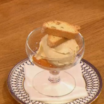 Gino D'acampo roasted apricot biscotti biscuit recipe on Let's Do Lunch
