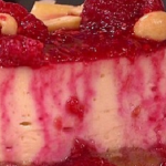 John Whaite American Style Peanut butter and jelly cheesecake recipe on Lorraine