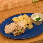 Gino posh chicken kebab recipe on Let's Do Lunch with Mel and Alan Carr