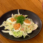 Gino Deviled egg salad recipe from the eighties on Let's Do Lunch
