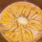 Gino D'Acampo mango tart recipe on Let's Do Lunch