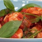 James Tanner prawn linguine pasta recipe on Lorraine