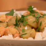 Gino D'acampo Spicy Thai prawn curry recipe on Let's Do Lunch with Mel