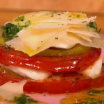 Gino Tomato, apple and mozzarella salad recipe on Let's Do Lunch