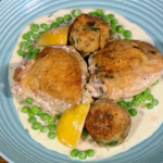 Gino D'Acampo Summer chicken with white wine and lemon stew recipe on Let's Do Lunch