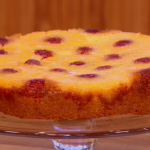 Gino upside down pineapple sponge cake recipe from the eighties on Let's Do Lunch