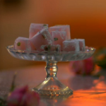 Rose and pistachio Turkish delight recipe by Kitty Hope and Mark Greenwood on Sweets Made Simple