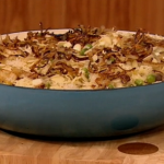 Gino D'Acampo  chicken biryani based on Melanie Sykes Mum's recipe on Let's Do Lunch