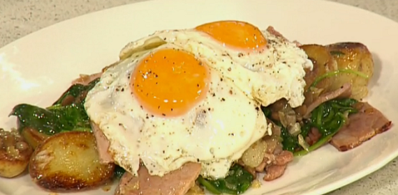 Phil Vickery ham, potato and egg brunch recipe on This Morning | TV ...