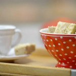 Gingerbread latte fudge recipe by Kitty Hope and Mark Greenwood on Sweets Made Simple