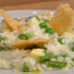 Gino D'Acampo Summer vegetable risotto  recipe on Let's Do Lunch with Melanie Sykes
