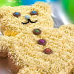 Rachel Allen Teddy Bear cake recipe for children on  Cake Diaries