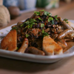Brian Turner Yorkshire Farmhouse Chicken Dinner on A Taste Of Britain with Janet Street-Porter
