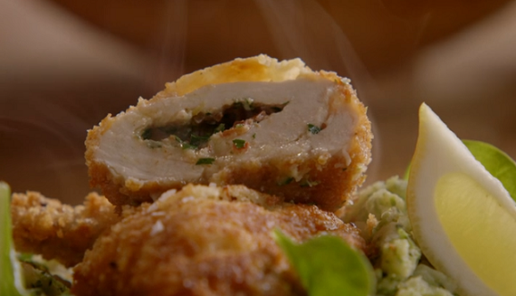 Jamie oliver chicken kiev recipe on jamies comfort food tv foods you forumfinder