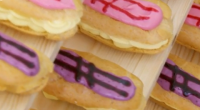 The Great British Bake Off eclairs recipe saw Richard crowned star baker in pastry week. The showstopper challenge saw the remaining bakers create 24 éclairs, with two different flavours and...