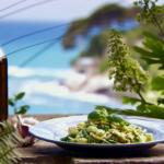 Gino  trofie pasta with rustic pesto, green beans and potato recipe on Gino's Italian Escape: A Taste Of The Sun