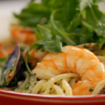 Linguine with prawns recipe by Lorraine Pascale on How To Be A Better Cook