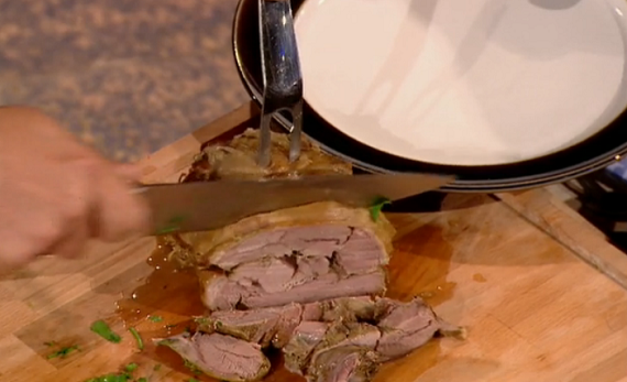 Ed Baines cooks slow roast lamb shoulder casserole with onions from ...