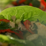 Lorraine Pascale spicy Thai minced chicken salad (Larb Gai) recipe on How to be a Better Cook