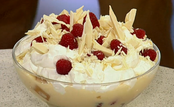 Phil Vickery Summer Fruit And White Chocolate Trifle