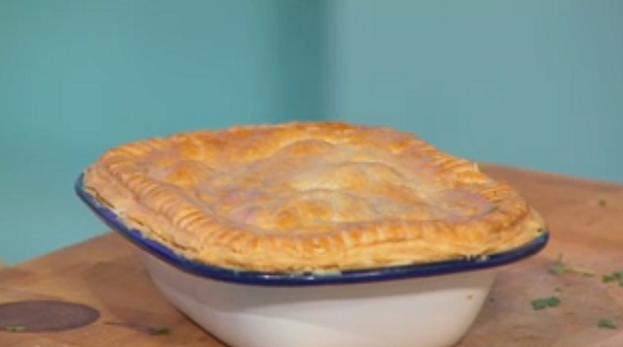 Simon Rimmer Beef Bourguignon Pie recipe on Daily Brunch | TV Foods