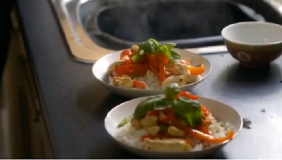Lorraine Pascale Chicken Cashew Nut And Basil Stir Fry