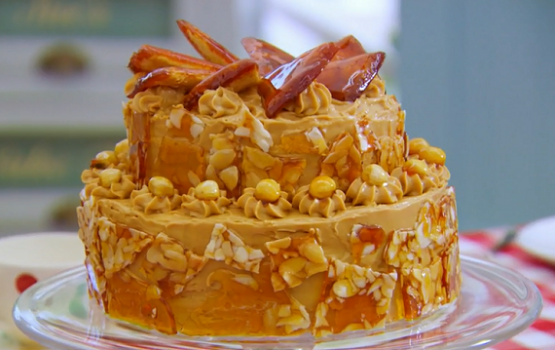 Mary Berry tiered dobos torte recipe on The Great British Bake Off ...