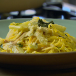 Nigel Slater Fennel and feta linguini pasta recipe on Nigel Slater's Dish of the Day