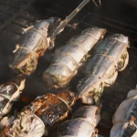 Tom Kerridge barbecue mackerel on Tom Kerridge Best Ever Dishes