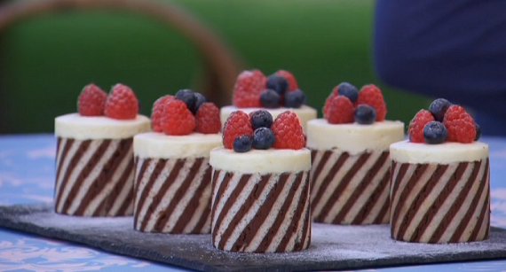 Mary Berry Double Chocolate Entremets Recipe On The Great